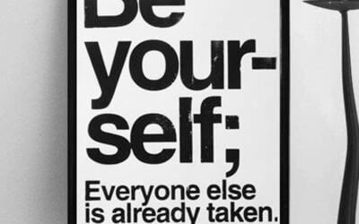 BE YOU…..