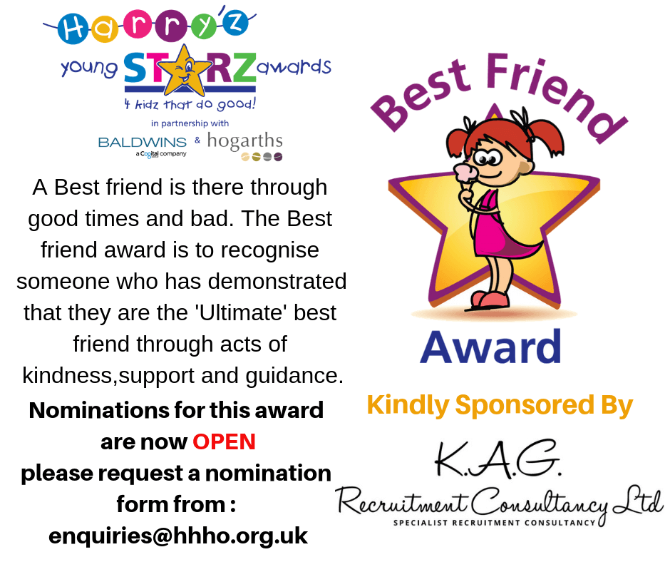 Best friend Award - KAG Recruitment Consultancy