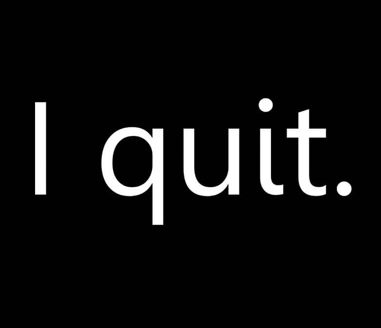 I QUIT- KAG Recruitment Consultancy
