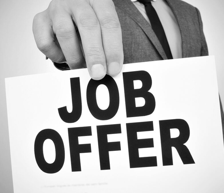 Job Offer - KAG Recruitment Consultancy