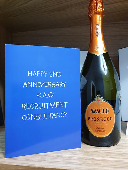 Happy second anniversary! - KAG Recruitment Consultancy