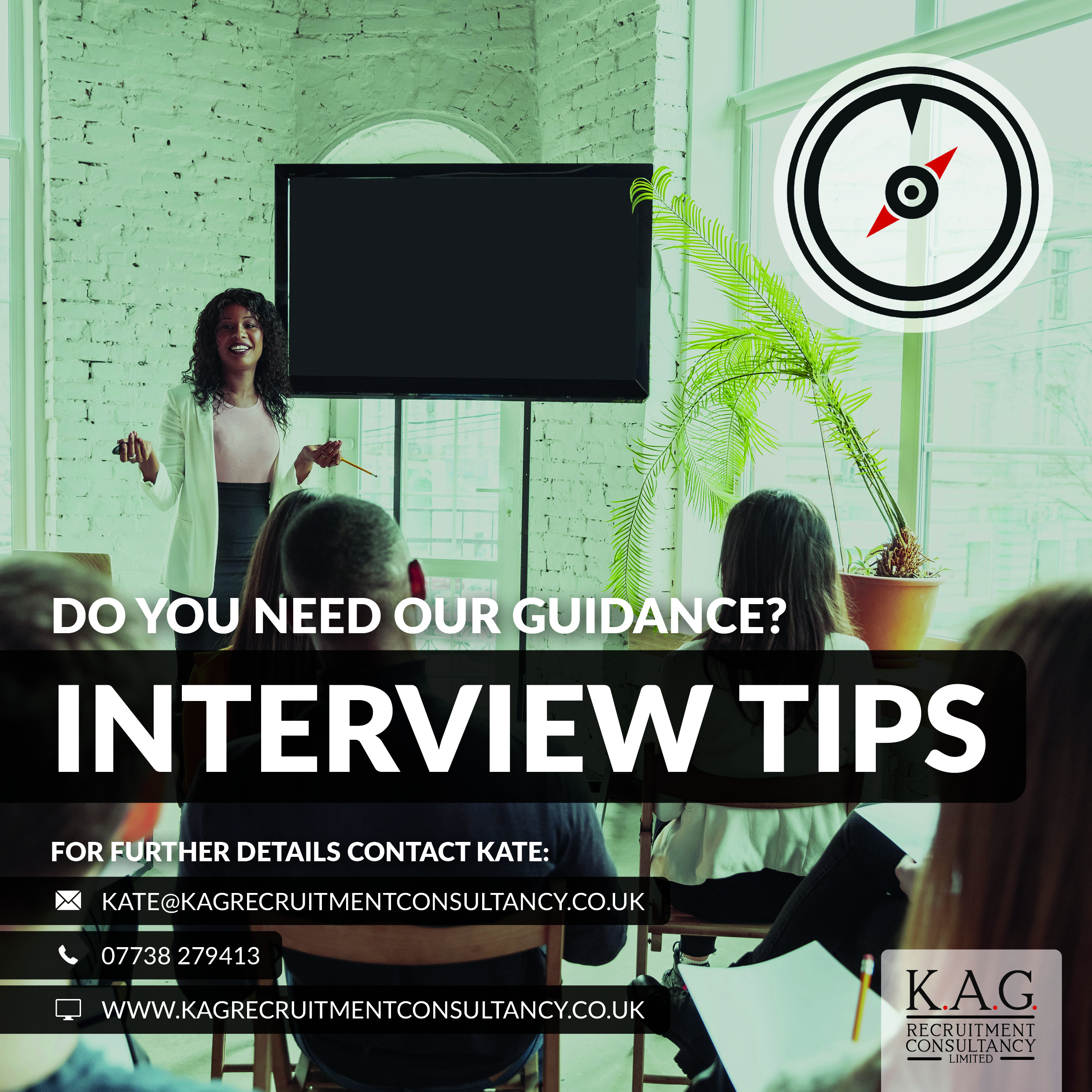 KAG Recruitment Consultancy interview tips